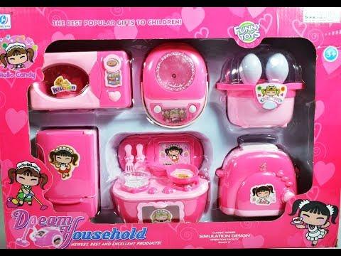 Barbie Doll House Kitchen Set