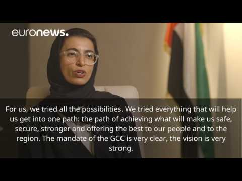 Interview with UAE Min. Her Excellency Noura Al Kaabi on Qatar
