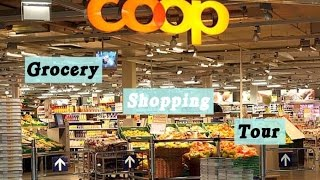 Coop Grocery Shopping Tour