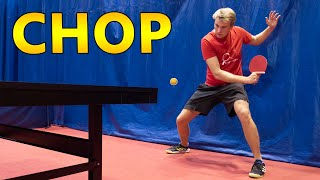 How to Defend in Table Tennis