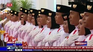 Video Jokowi Kukuhkan 68 Pelajar SMA Jadi Paskibraka download MP3, 3GP, MP4, WEBM, AVI, FLV Agustus 2018