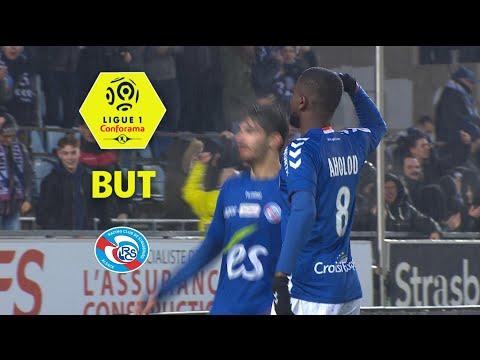 But Jean Eudes AHOLOU (5') / RC Strasbourg Alsace - Dijon FCO (3-2)  / 2017-18