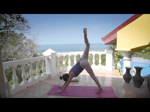 Ocean View Yoga - 30 minute Flow in Costa Rica