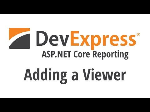 ASP.NET Core Reporting: Adding A Viewer