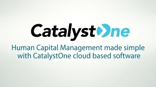 Catalystone solutions provides cloud applications for human capital management including core hr, competence, performance management, compensation and talent...