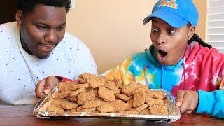 chicken nuggets challenge