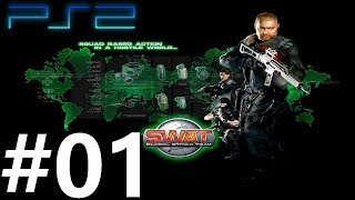 SWAT: Global Strike Team - PLAYTHROUGH│PS2 Gameplay│#01