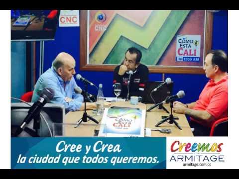 "Maurice Armitage - Entrevista para ""COMO ESTA CALI"" de Red Sonora"