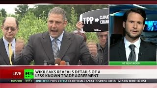 WikiLeaks exposes new batch of secret US, EU trade negotiations