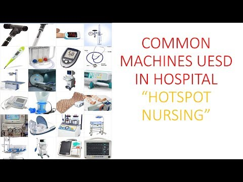 NURSING COMMON MACHINES IMAGES USED IN HOSPITAL