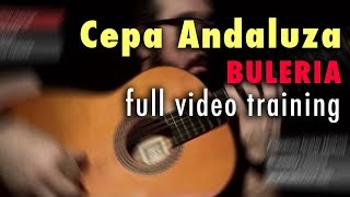 Cepa Andaluza (Buleria) by Paco de Lucia - Full Video Training - Annotations