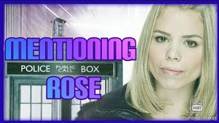 Mentioning Rose (Doctor Who) thumbnail