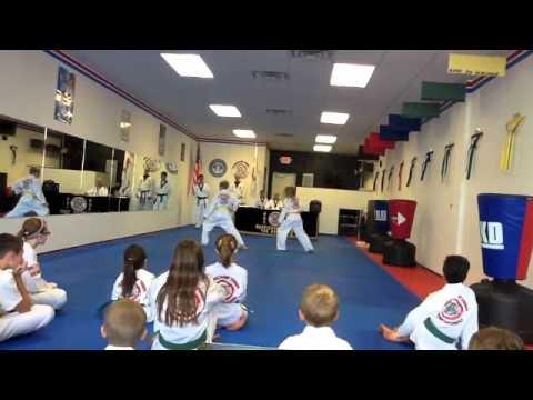 Nicholas Taylor TKD Ying Jang Belt  July 14, 2012