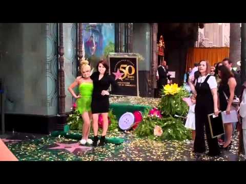 Hollywood Walk of Fame Honors Tinker Bell with Famous Star a