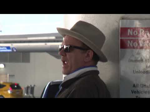Comedic Genius John C. Reilly Plays It Cool At LAX