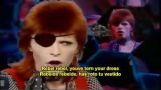 David Bowie - Rebel Rebel (Subtitulado Ingles - Español)