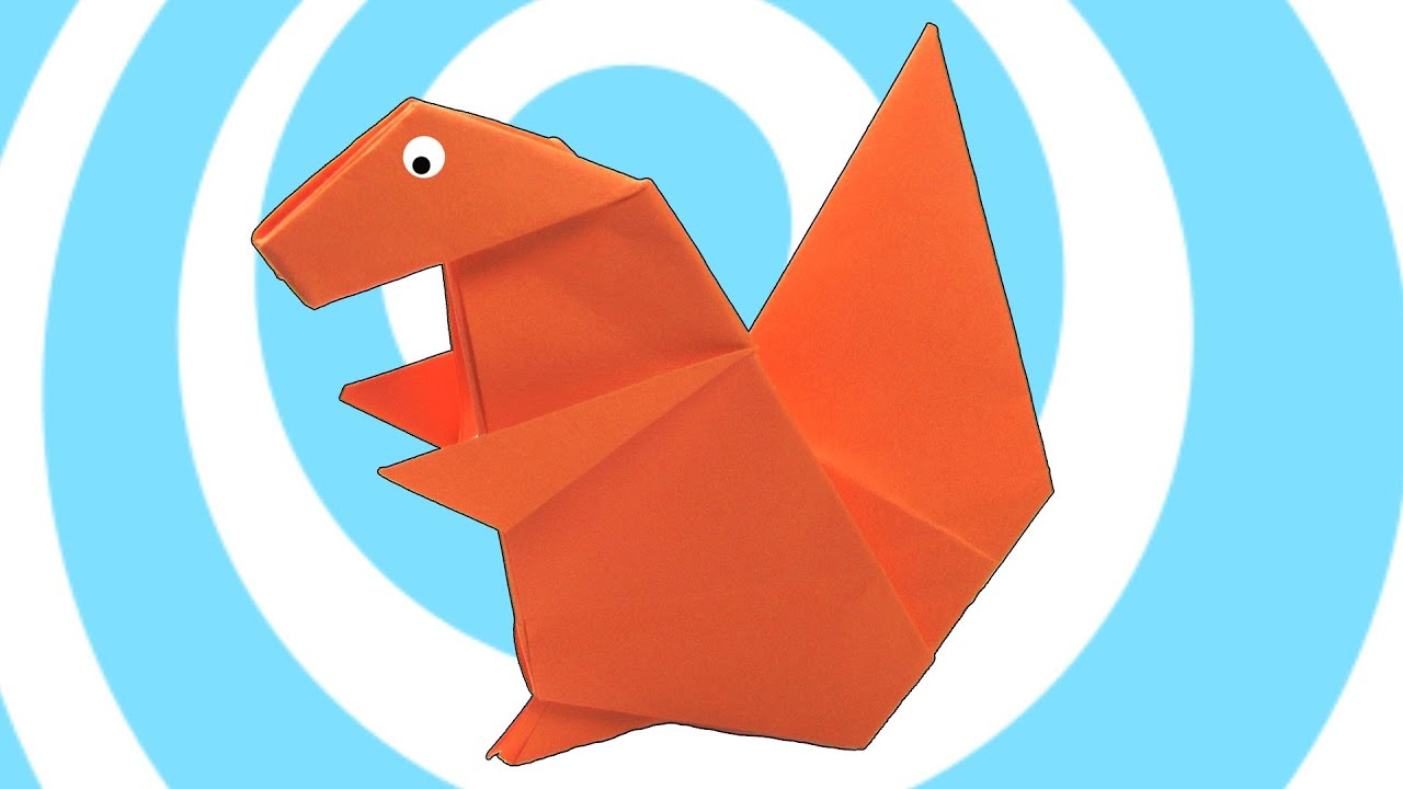 Paper origami squirrel instructions youtube paper origami squirrel instructions jeuxipadfo Choice Image