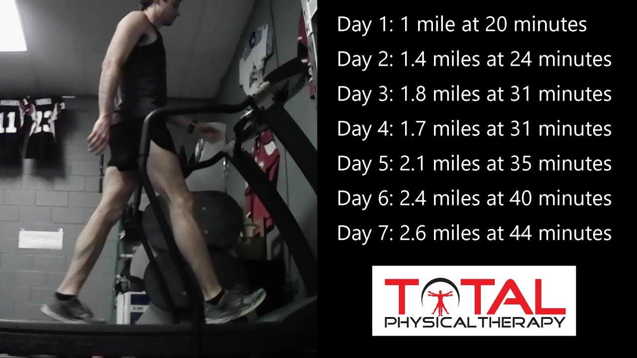 Starting a Walking/Running program Week 1