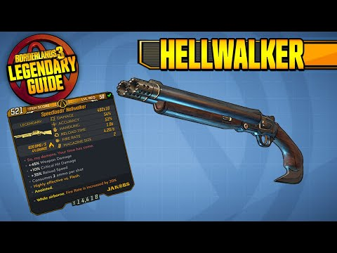 HELLWALKER - BUFFED! | Legendary Item Guide [Borderlands 3]