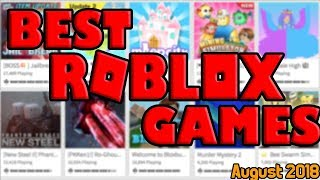 [ROBLOX] Best Games of August 2018!