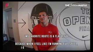 Rob Gronkowski's favorite route