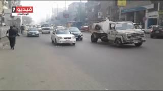 بالفيديو.. تعرف على خريطة الحالة المرورية بمحاور وميادين القاهرة الكبرى