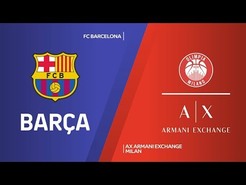 FC Barcelona - AX Armani Exchange Milan Highlights | Turkish Airlines EuroLeague, RS Round 24