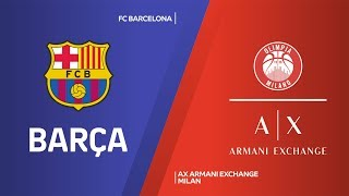 In a game with big swings that went down to the wire, fc barcelona pulled out an 84-80 win over visiting ax armani exchange milan at palau blaugrana on f...