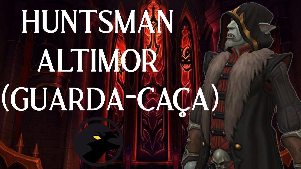 Shadowlands - Huntsman Altimor (Guarda-Caça) Heroic Kill