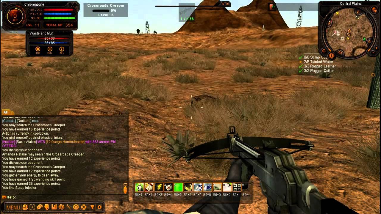 Fallen Earth Gameplay Fallen earth gameplay,...