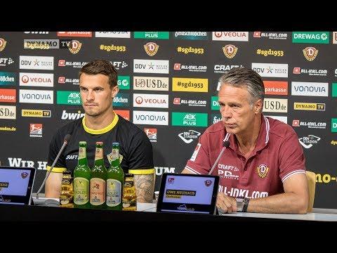 1. Runde DFB-Pokal   SVR - SGD   Pressekonferenz vor dem Spiel