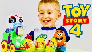 КИНДЕР СЮРПРИЗЫ ИСТОРИЯ ИГРУШЕК 3 😱 СКЕТЧ от РОМАРИКОВ Toy Story Kinder Surprise