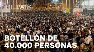40.000 asistentes al MACROBOTELLÓN en BARCELONA