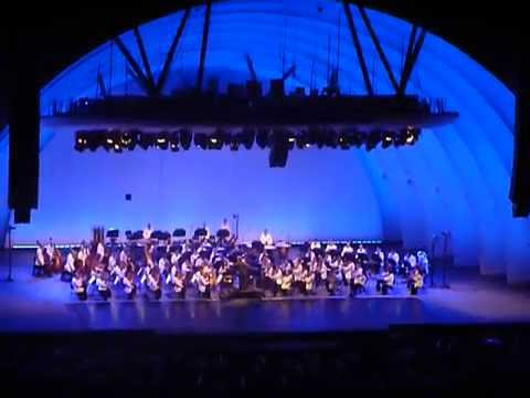 Tchaikovsky Spectacular-1812 overture Hollywood Bowl 2016 with amazing Fireworks