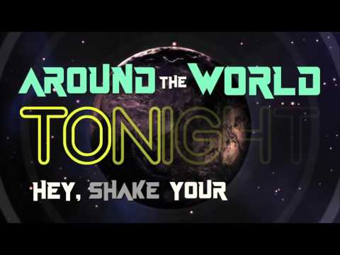 Around The World - Tharyk feat. Guadalupe Sueldo | Lyric Video