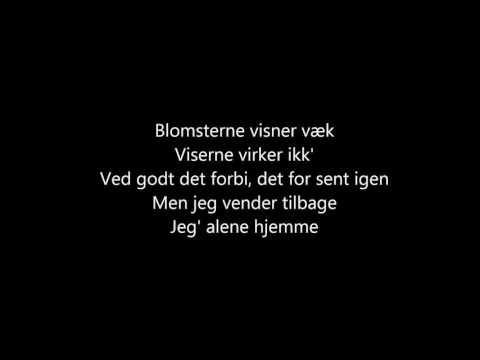 Joey Moe - Alene Hjemme - Lyrics