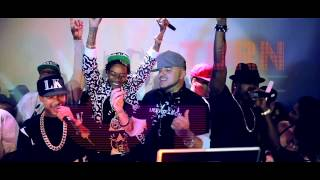 Смотреть клип Dj Felli Fel Ft. Wiz Khalifa, Tyga & Ne-Yo - Reason To Hate