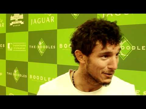 Juan Monaco Interview (picomonaco) Pre Wimbledon 2012 - Steve G Tennis Exclusive