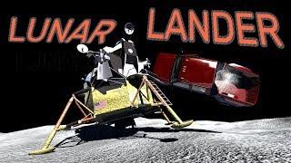BeamNG.drive - LUNAR LANDER IN SPACE!