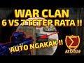 WAR CLAN !! 6 VS 7 TETEP RATA BROO !! NGAKAK PARAH !! - POINTBLANK INDONESIA