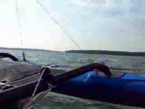 BartsGoPro - High Speed Runs - Windrider 17 Trimaran Sailing