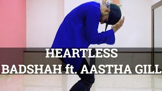 Heartless - Badshah ft AASTHA Gill | Throb Dance Institute | Avinash Singh Dance choreography