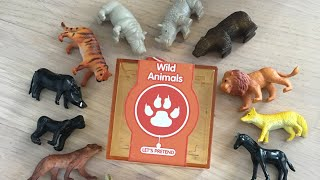Дикие животные. Животные для детей. Игрушки Trixy and Troy