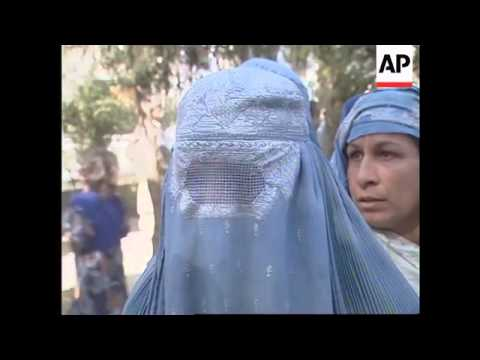 Afghan women march for jobs