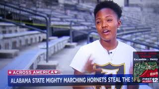 Mighty Marching Hornets Band Live On NBC Nighty News With Lester Holt
