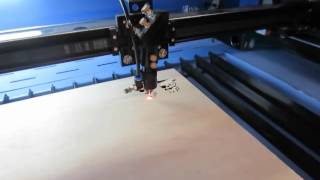 80w 8mm laser cutting plywood