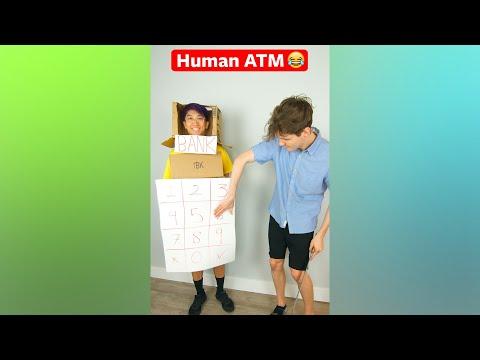 Human ATM 😂 #shorts