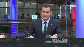 Marcelo Rodio: Cambio de mando en la ciudad