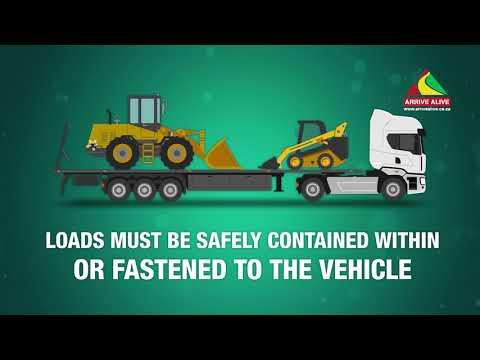 Safely Securing Loads during Transport