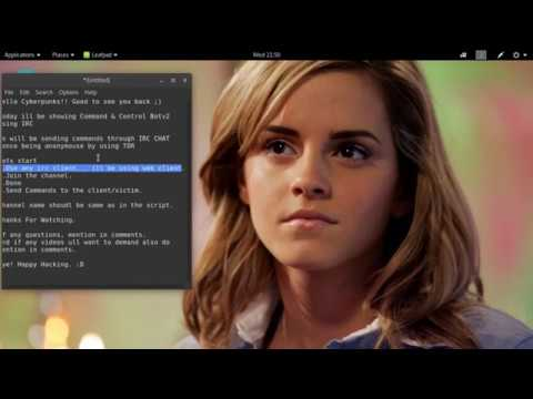 Command And Control Bot Using IRC